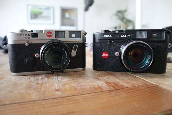 Leica M6 vs Leica M4-P : What's the difference?